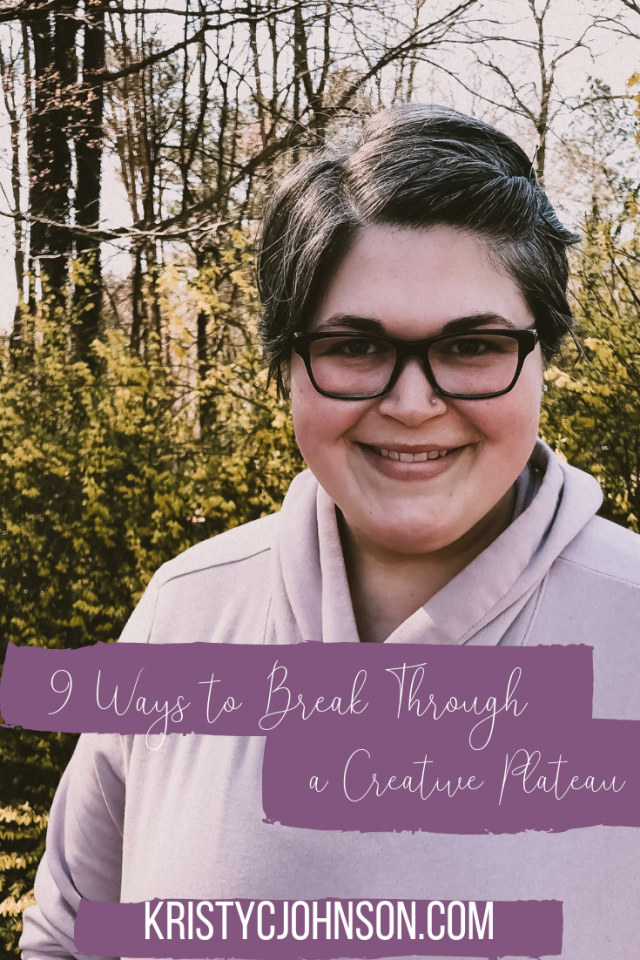 9 ways to break through a creative plateau